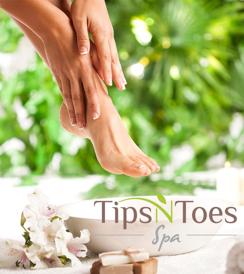 Pedicure at TipsNToes